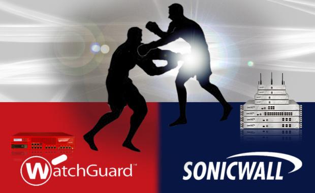 Watchguard en campaña contra Sonicwall usando robo de identidad