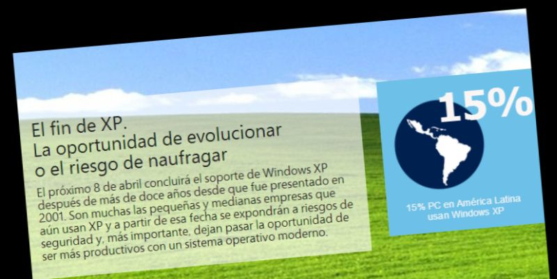 Microsoft recomienda actualizar a Windows 8.1