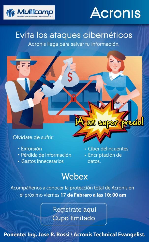 WEBINAR ACRONIS
